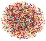 Wachsperlen Mix (6/8 mm), 250 g bunt sortiert