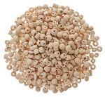 Holzperlen-Mischung, 500 g natur
