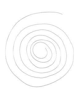 Metalen ketting (1 m) platinakleur (0,6 x 0,8 mm)