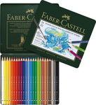 Crayons de couleur aquarellables Faber-Ca...