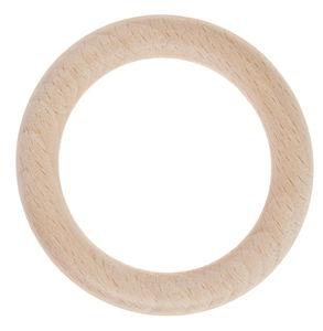 Anneaux en bois , 70 mm (ø ext.) 50 mm (ø int.)