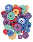 Assortimento di bottoni 84pz/50g colori assortiti