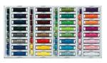 Set di filati da cucito, 32 colori, 15m ciascuno