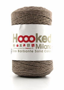 HOOOKED Eco Barbante, taupe, 200g