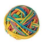 Gummiring-Ball bunt, ca. 200 Stück (ø 40 mm)