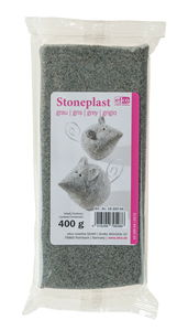 Stoneplast boetseerklei 'Graniet', 400 gr.