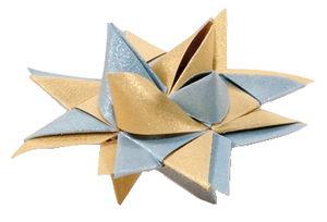 Set de pliage d'étoiles Froebel , Noël