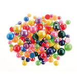 Schmucksteine, 125 Stück Halbkugeln perlmutt