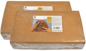 Klei soft-ton Plus, terracotta, 20 kg
