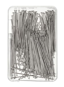 Stecknadeln Stahl gehärtet, 20 g (0,65 x 30 mm)