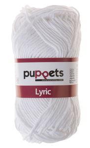 Hilo grueso de algodón 'Lyric', de 8 cabos, blanco