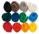 Sprookjes scheerwol - kamband, 250 g, 12 kleuren