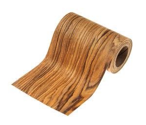 Houtfineer stofband (10 cm x 2,5 m) bruin