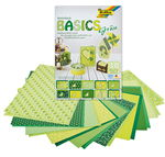 Bloc de cartulina/papel Basics, 240x340mm, verde