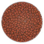 Rocailles opak (2,6 mm), 20 g braun