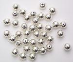 Perles métallisées -Bille-, Diam. 6 m...,