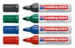 edding 550 permanent marker (3-4 mm), 4 stuks