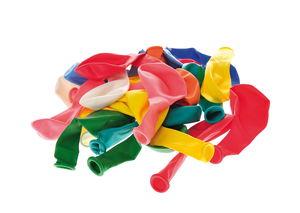 Ballonnen, div. kleuren, 100 stuks