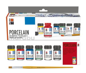 Marabu porseleinverf (6 x 15 ml)