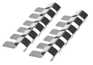 Metalen sluitklemmen t.b.v. wekglas, 12 stuks