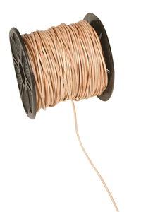 Cordons en cuir , Dim. (øxL): 1..., naturel