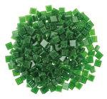 Mosaik-Glassteine, 300 Stück tanne    (10 x 10 mm)
