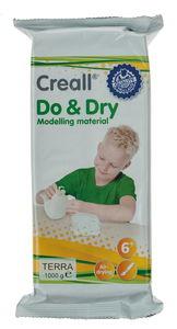 Creall Do & Dry boetseerklei, terracotta, 1kg