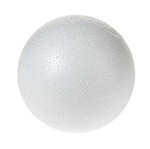 Boule en polystyrène , En 2 p..., 40 cm (ø)