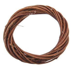 Wilgenkrans, bruin, ca. 7,5 x 1,5 cm
