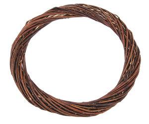 Wilgenkrans, bruin, ca. 30 x 4 cm