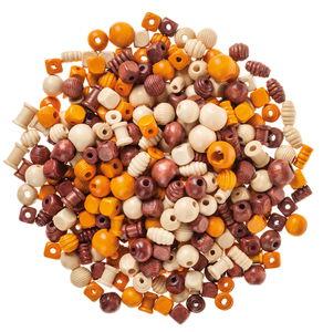 Perles assorties en bois , 2ème choix, ...,