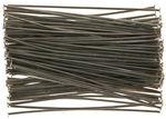 Agujas para insertar, 45 mm, 100 ud. color platino