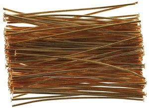 Prismenstifte, 100 Stück goldfarben (45 mm)