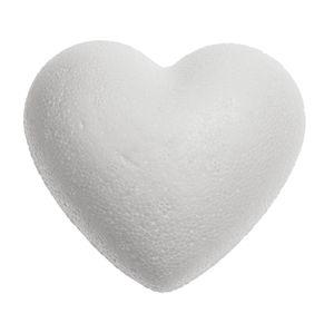Coeur en polystyrène, la pièce , 9 cm (ø)