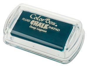 Stempelkussen Chalk (45 x 25 mm) petrol