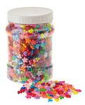 Mezcla de perlas de plástico, 2100 ud.