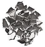 Scherven mozaïek, ca.5mm dik, 500 gr, zilver
