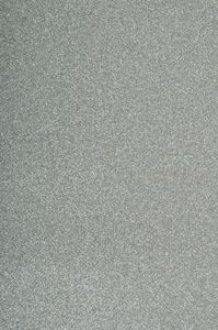 Moosgummi Glitter, silber (2 mm x 20 x 30 cm)