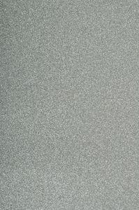 Rubberplaat 'Glitter', 200 x 300 mm, zilver