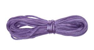 Satijnkoord, ca. ø 2 mm, 6 m/rol, violet