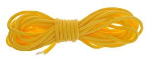 PARACORD vlecht touw (3,5 mm x 4 m) zonnegeel