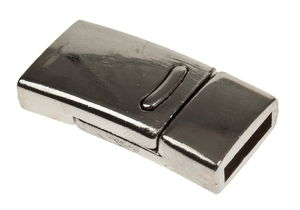 Metall-Magnetverschluss (ca. 14 x 27 mm)