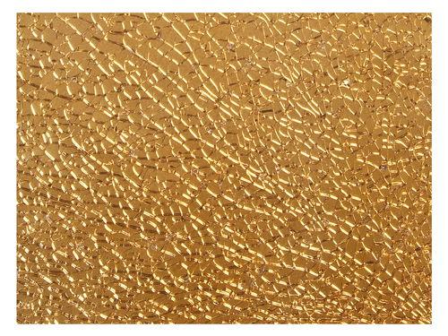 crackle mosaikplatte gold 4 x 150 x 200 mm opitec. Black Bedroom Furniture Sets. Home Design Ideas