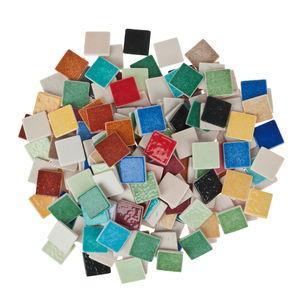 Keramiek mozaïek Briare, kleurrijk, 1000 g