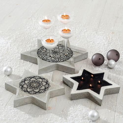 kreativ mit beton. Black Bedroom Furniture Sets. Home Design Ideas