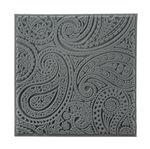Texturmatte Paisley (9 x 9 cm)