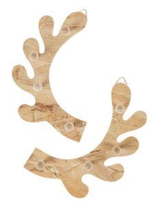 Bois d'élan en bois, Chacun avec 4 cr...,