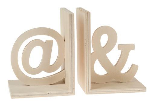 buchst tzen holz 2er set 10 x 13 cm opitec. Black Bedroom Furniture Sets. Home Design Ideas
