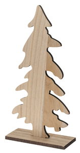 Legno - abete, naturale, 200x75x400mm, 1 pezzo