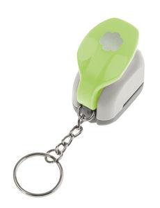 OPITEC mini motiefpons 'Bloem' met sleutelhanger